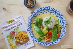 Gelbes Thai-Curry (vegetarisch)