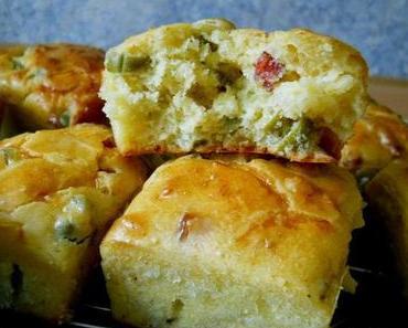 Herzhafte Speck-Muffins