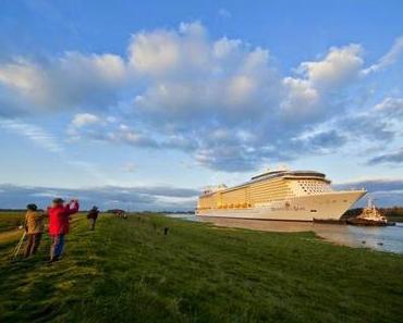 Quantum of the Seas: Ocean Riese auf Erprobungsfahrten in der Nordee!