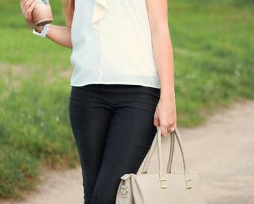 Classy outfit + Starbucks
