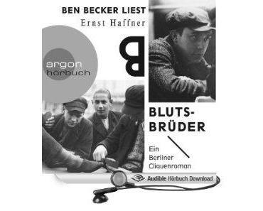 """Ben Becker liest verloren geglaubten Roman """"Blutsbrüder"""""""
