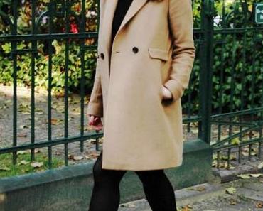 Lieblings-Herbst Mantel in Camel