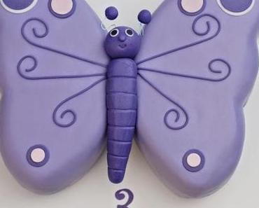 Ein Schmetterling zum Geburtstag