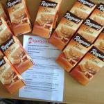 Regusa Blond die neue Premium Schokoladen-Spezialität