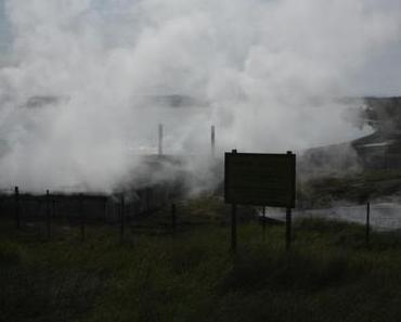 Heiße Quellen, Geysire und ein Riesen-Wasserfall… Ein Kurzbericht