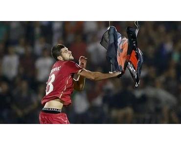 Drohne mit Flagge sorgt für Abbruch bei EM-Qualifikation Serbien gegen Albanien