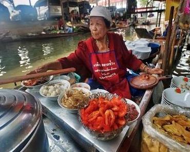 6 beeindruckende schwimmende Märkte in Asien