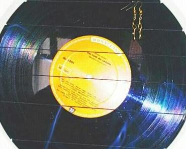 DIY Upcycling – Ohrringe Display aus Vinyl!