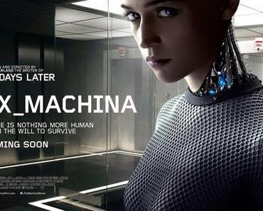 Ex Machina: Teaserposter und Trailer zum SF-Film von Alex Garland