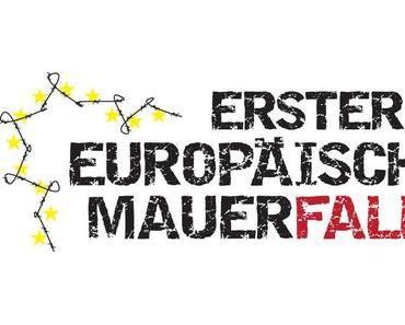 Aktion: Erster Europäischer Mauerfall