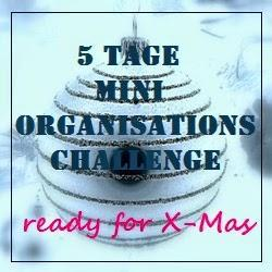 5 Tage Mini - Organisations Challenge: Dekomaterialien organisieren und Dekorationsplan erstellen - Tag 2