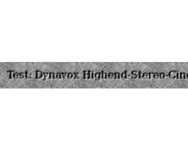 Test: Dynavox Highend Stereo Cinch-Kabel