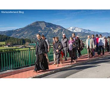 Bild der Woche: Barfuß Wallfahrt von Mitterbach nach Mariazell