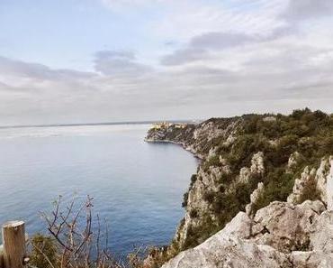 Wandern über den Kreidefelsen: Der Rilke-Weg am Golf von Triest