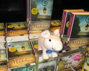 Limes bei der Lesung zu Das fremde Mädchen mit Autorin Katherine Webb