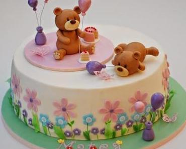 Die Teddybären feiern Geburtstag