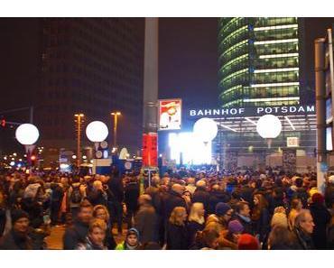 Fotos von der Lichtgrenze in Berlin