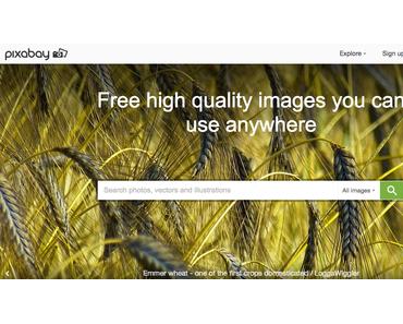 5 kostenlose Bilddatenbanken für Blogger