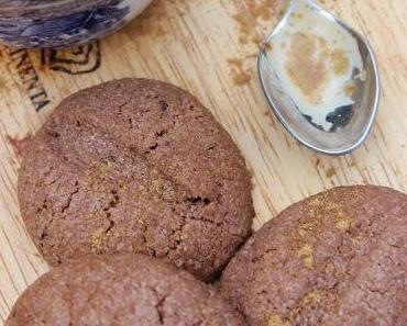 Kaffeebohnen-Kekse