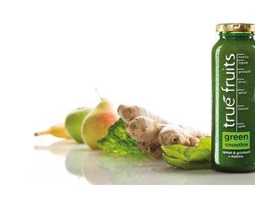 Green Smoothie zu kaufen! Der erste Grüne Smoothie von True Fruits am deutschen Markt