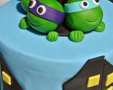 Ninja Turtles Torte