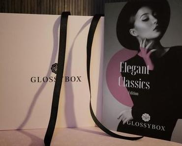 Glossybox November 2014 - Elegant Classics Edition