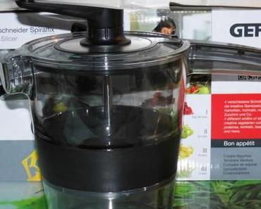 Gefu Spiralschneider Spiralfix – mein neuer Helfer in der Küche