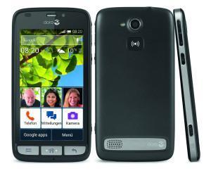 Smartphone für die älteren Menschen