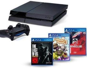 PS4: Sony veröffentlicht neues Bundle