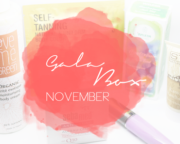 Gala Beauty Box November