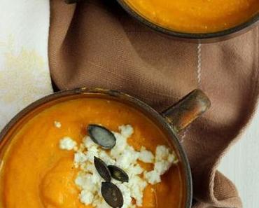 Karottensuppe mit Kardamom von Eschi Fiege oder holt das karierte Tischtuch raus