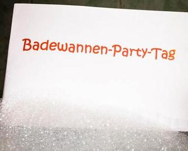 Badewannen-Party-Tag – der amerikanische Bathtub Party Day