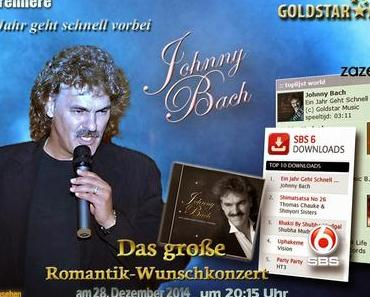 Johnny Bach: Neuer Hit erreicht Platz 1 der Download-Charts