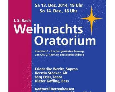 Hannover: Bachs Weihnachtsoratorium etwas anders - Konzert in der Herrenhäuser Kirche Dezember 2014