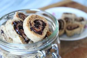 Sweet Sunday: Vegane Pflaumen-Zimt-Schnecken