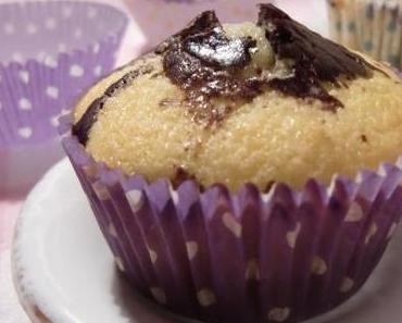 Martha Stewarts Marble Cupcakes mit der richtigen Dosis Schokolade.