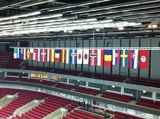 Das Eröffnungsspiel Schweden - Chile