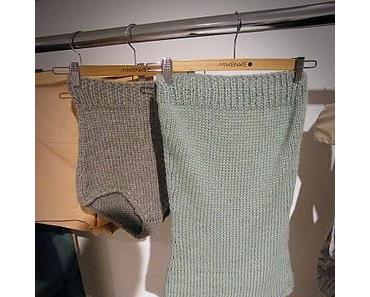 Berlin Fashion Week 2011: Mikenke . Eco-Wollschlüpfer für Jane Fonda?