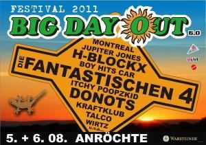 H-BlockX kommen zum BiG DaY OuT 2011