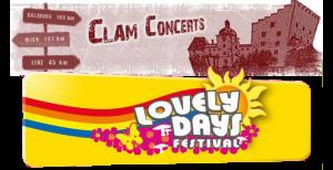 Lovely Days und CLAM ROCK 2011 mit Santana