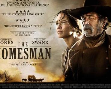 Review: THE HOMESMAN – Tommy Lee Jones kutschiert verrückte Frauen durch die USA
