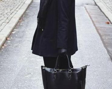 Winter Outfit für Sturm- und Regentage