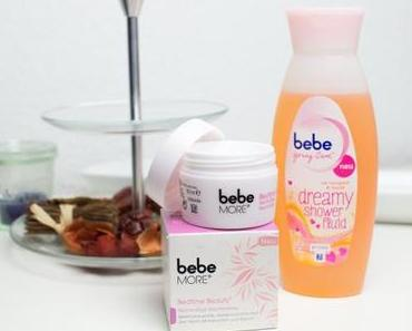 bebe more bedtime beauty und dreamy shower fluid