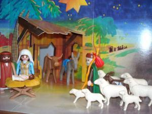 Türchen 21 vom Adventskalender – Ein Kind in der Krippe