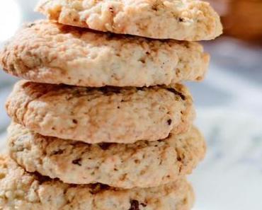 Hafer-Walnuss-Pflaumen-Kekse