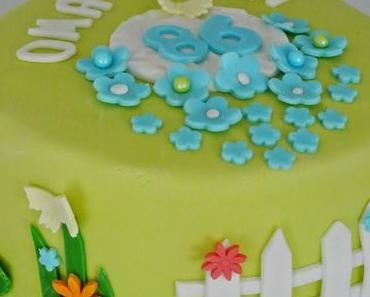 Garten Torte für Omi