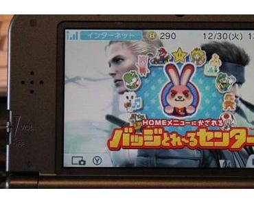 3DS Home Menü Icons mit kostenloser Deko-Software anpassen – Home Menu Kazareru Badge Torēru Center