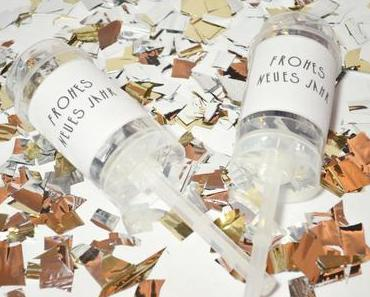 Happy New Year mit DIY-Konfetti-Poppers