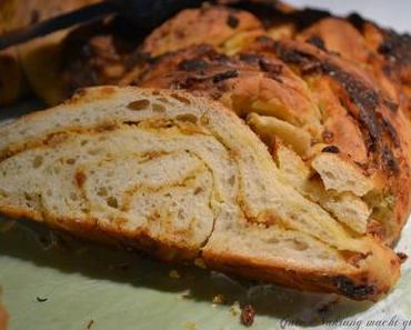 Silvesterbuffet: Pyrenäisches Zwiebelbrot ohne Tütchen