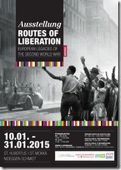 """Termine für Januar 2015, jetzt mit Besuch der Wanderausstellung """"Routes of Liberation"""" in Schmidt"""